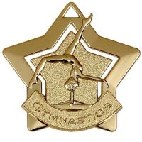 Mini Star Gymnastics Medal</br>AM719G